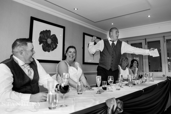 wrightington hotel wedding photographers - stanbury photography wigan